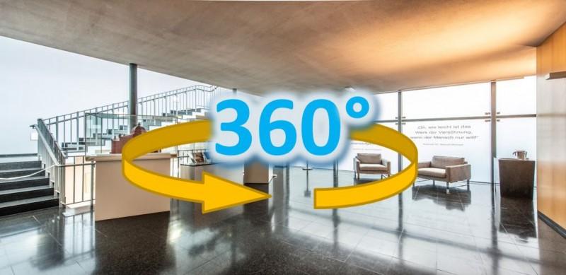 Wiederholungstermin | 360° Panorama-Führung durch die Grazer Synagoge (Online)