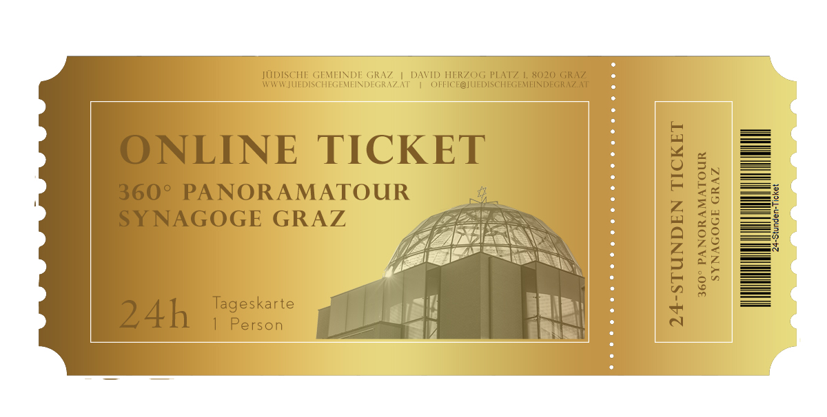 24h Ticket - 360° Online-Panoramatour. (Zugangslink erfolgt per Email)